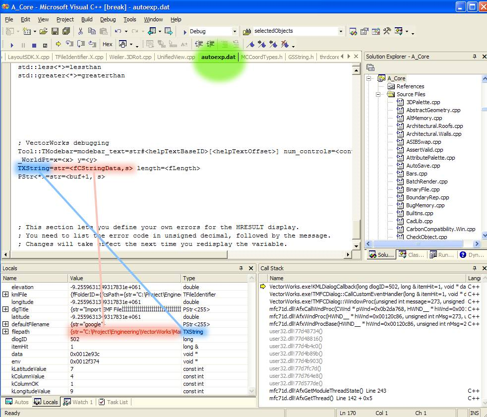SDK:Visual Studio - Vectorworks Developer
